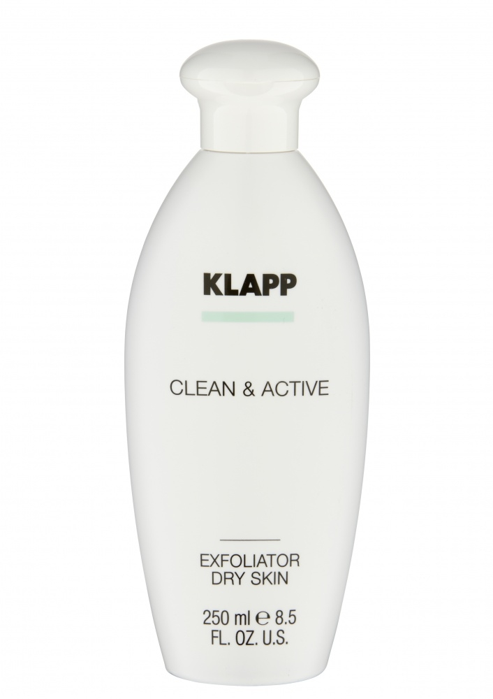 Klapp Эксфолиатор Exfoliator Dry Skin для Сухой Кожи, 250 мл