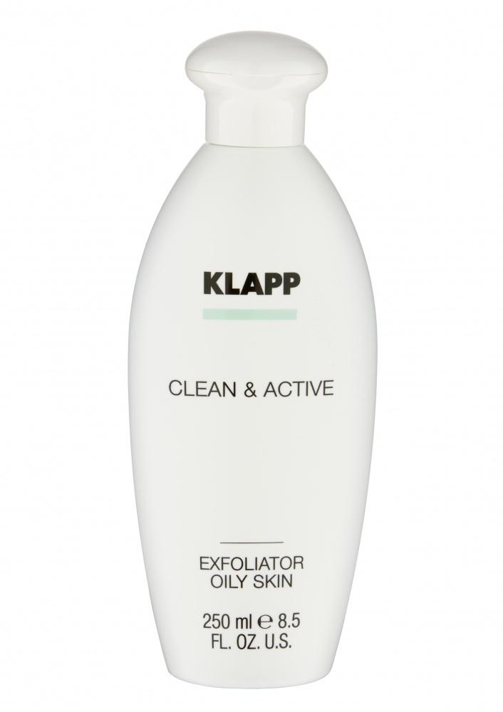 Klapp Эксфолиатор Exfoliator Oily Skin для Жирной Кожи, 250 мл