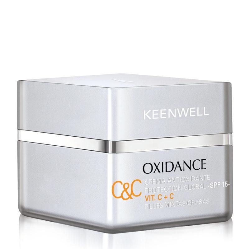 Keenwell Крем Crema Antioxidante Proteccion Global Антиоксидантный Мультизащитный СЗФ15 с Витаминами С+С, 50 мл недорого