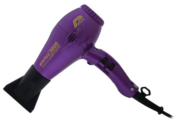 PARLUX Фен 3800 Ionic&Ceramic Eco Friendly 2100W Фиолетовый фен ga ma tempo 2200вт фиолетовый