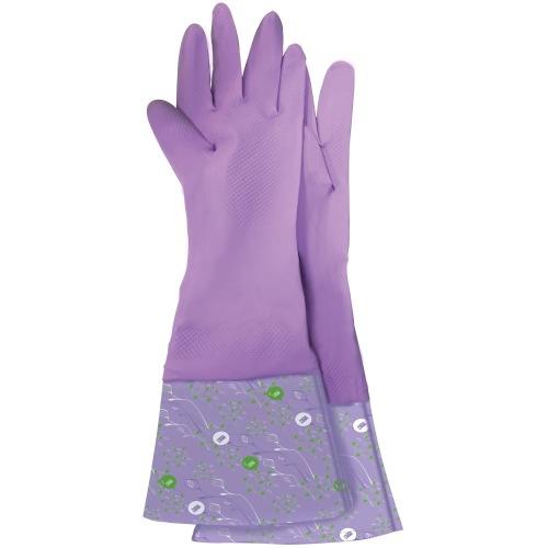 Фото - Meine Liebe Перчатки Латексные Универсальные Чистенот с Манжетой Хозяйственные, размер М перчатки elfe хозяйственные с манжетой 1 пара размер m цвет розовый