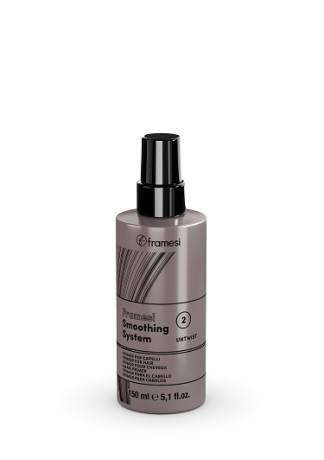 Framesi Разглаживающий спрей-кондиционер для волос SMOOTHING SYSTEM MOISTURIZING LEAVE-IN, 150 мл спрей framesi by wavy spray 150 мл