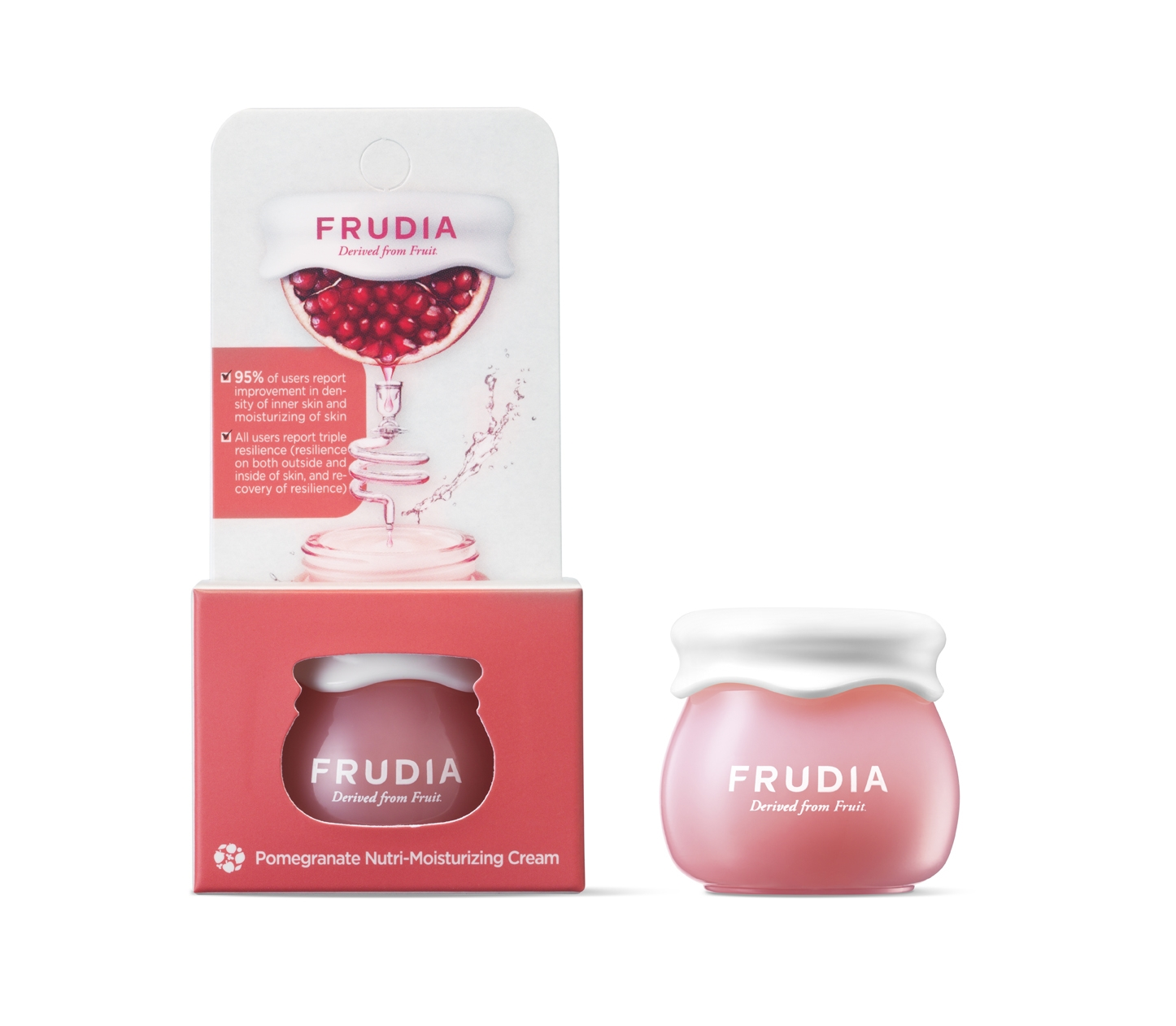 Frudia Крем Pomegranate Nutri-Moisturizing Cream Питательный для Лица с Гранатом Мини, 10г крем с гранатом