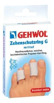 GEHWOL G Кольцо на Палец, Среднее, 30 мм, 12 шт gehwol g кольцо на палец среднее 30 мм 12 шт