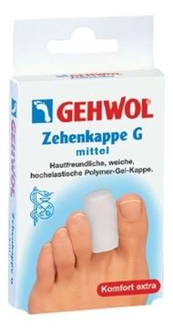 GEHWOL G Колпачок на Палец, Средний, 6 шт gehwol g кольцо на палец среднее 30 мм 12 шт