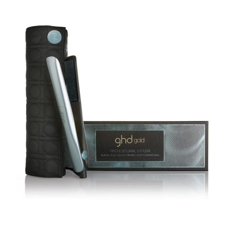 GHD Стайлер для Укладки Волос ghd gold+ в Термостойкой Сумке glacial blue