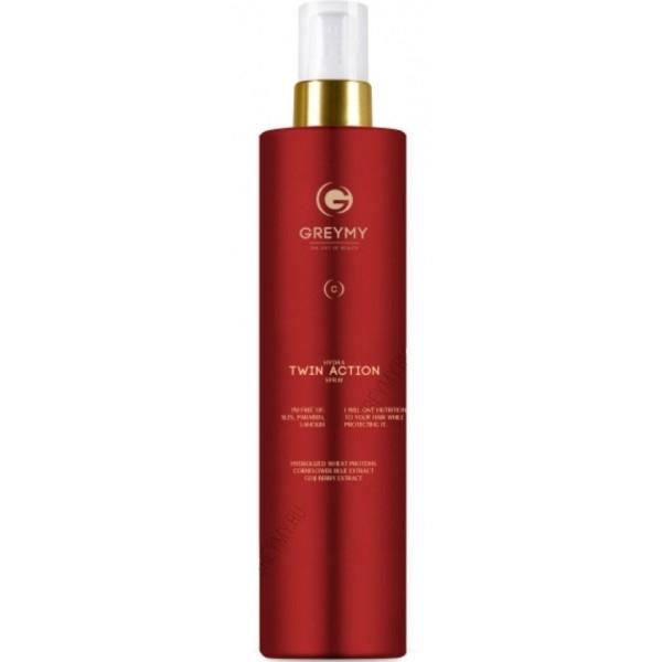 Greymy Спрей Двойного Действия для Увлажнения Волос и Защиты Цвета Hydra Twin Action Spray, 200 мл