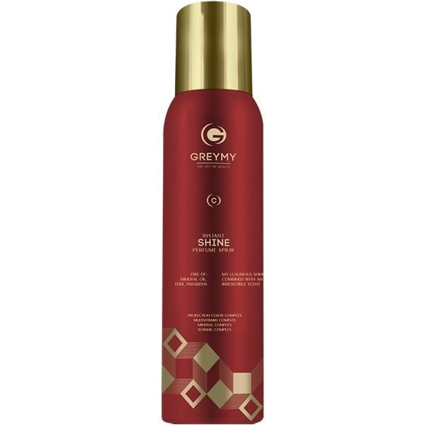 Greymy Спрей -Усилитель Блеска и Цвета Instant Shine Perfume Spray, 150 мл