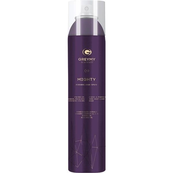 Greymy Спрей-Лак Надежной Фиксации Mighty Forming Hair Spray, 300 мл