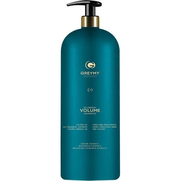 Greymy Шампунь Уплотняющий для Объема Plumping Volume Shampoo, 1000 мл