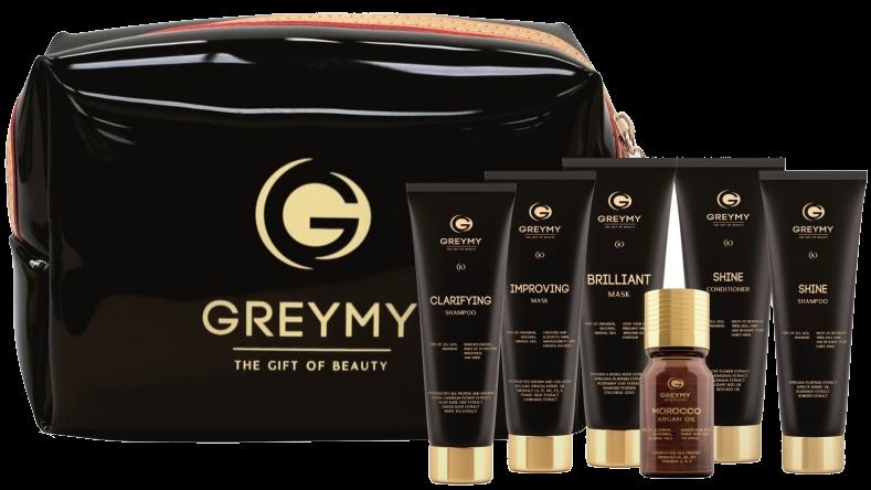Greymy Professional Travel kit Greymy Дорожный Набор Greymy, 6 продуктов триммер greenworks gс82 bcbk5 2103107 ub