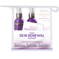 GlySkinCare Skin Reneval Home Kit Курс Пилингов в Домашних Условиях, 100/100/30 мл