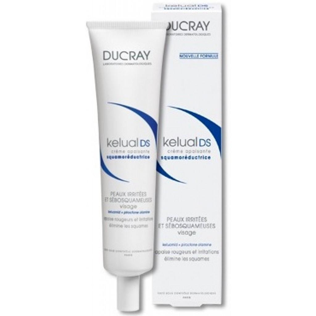 Ducray Крем Kelual DS Смягчающий для Устранения Шелушения Кераторедуктор Келюаль, 40 мл ducray неоптид лосьон от выпадения волос для мужчин 100 мл