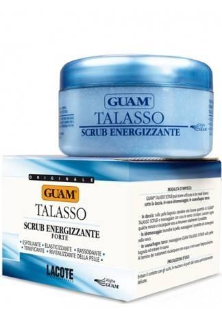 GUAM Скраб для тела тонизирующий увлажняющий TALASSO, 420 г