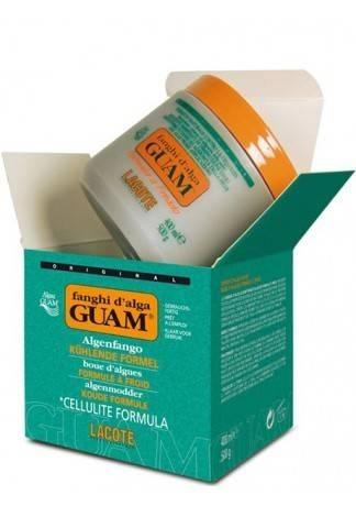 GUAM Маска антицеллюлитная с охлаждающим эффектом FANGHI D'ALGA, 500 г guam маска антицеллюлитная для чувствительной кожи с хрупкими капиллярами fanghi d'alga 500г