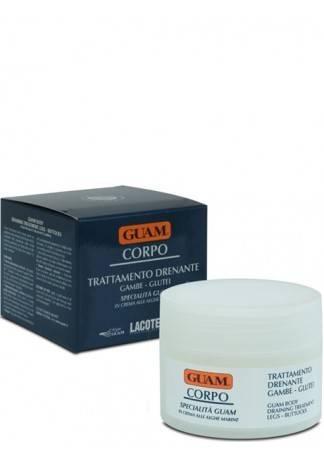 GUAM Крем для ног с дренажным эффектом CORPO, 200 мл