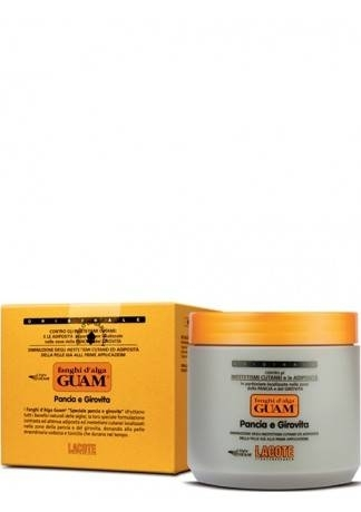 GUAM Маска антицеллюлитная для живота и талии FANGHI D'ALGA, 500 г guam маска антицеллюлитная для чувствительной кожи с хрупкими капиллярами fanghi d'alga 500г