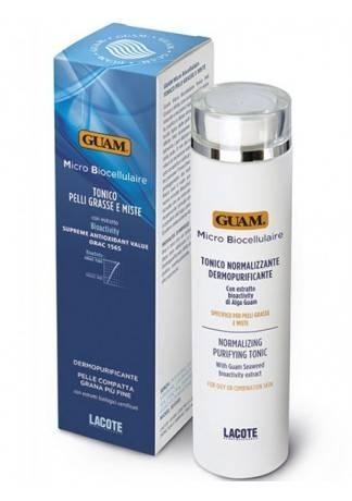 GUAM Тоник Micro Biocellulaire для проблемной кожи, 200 мл умывалки для проблемной кожи аптечные