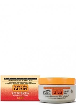 GUAM Маска антицеллюлитная активная FANGHI D'ALGA, 300 г guam маска антицеллюлитная для чувствительной кожи с хрупкими капиллярами fanghi d'alga 500г