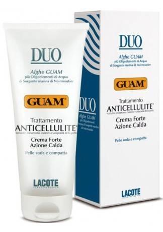 GUAM Крем антицеллюлитный с разогревающим эффектом интенсивный  DUO, 200 мл