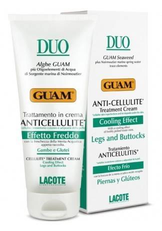 GUAM Крем антицеллюлитный с охлаждающим эффектом DUO, 200 мл