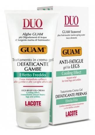 GUAM Гель для ног против отёков с охлаждающим эффектом DUO, 100 мл