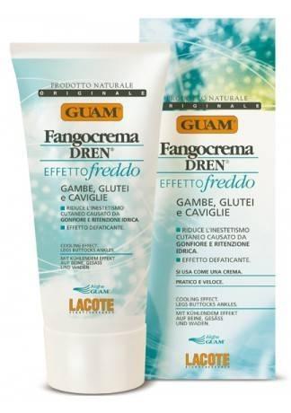 GUAM Крем антицеллюлитный с дренажным эффектом освежающий DREN, 200 мл