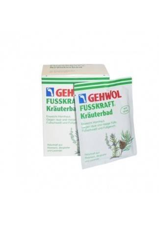 GEHWOL Gehwol Травяная Ванна для Ног (Fussbad) 200г-10 Пакетов ванна для ног polaris pmb 1006