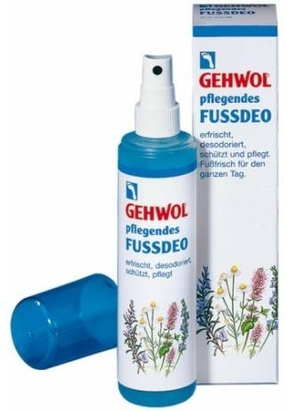 GEHWOL Gehwol Ухаживающий Дезодорант для Ног (Caring Footdeo), 150 мл