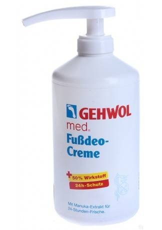 купить GEHWOL Gehwol Крем-Дезодорант (Deodorant Foot Cream), 500 мл по цене 3595 рублей