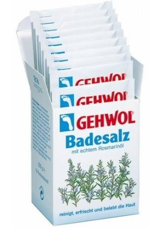 GEHWOL Gehwol Соль для Ванны с Маслом Розмарина 10 Пакетиков