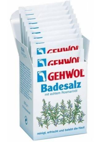 GEHWOL Gehwol Соль для Ванны с Маслом Розмарина 10 Пакетиков gehwol gehwol соль для ванны с маслом розмарина 10 пакетиков