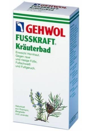 GEHWOL Gehwol «Фусскрафт» — Травяная Ванна (Krauterbad) 400г недорого