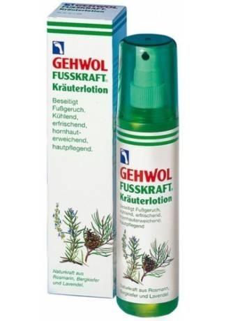 GEHWOL Gehwol «Фусcкрафт» — Травяной Лосьон (Herbal Lotion), 150 мл gehwol gehwol hl лосьон с керамидами hydro lipid lotion 500 мл