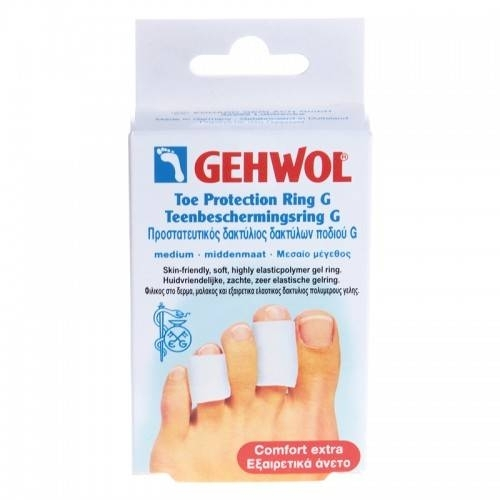 Фото - GEHWOL Гель-кольцо G, среднее, 30 мм, 2 шт gehwol g кольцо на палец среднее 30 мм 12 шт