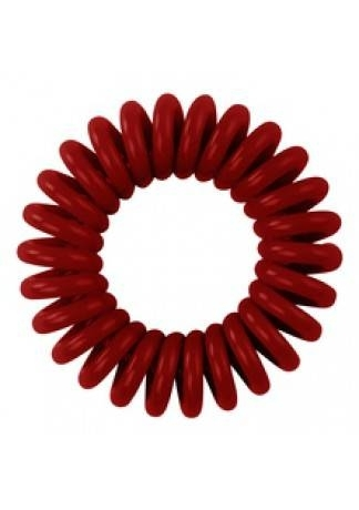Hair Bobbles Резинка для Волос Темно-Красная, 3 шт