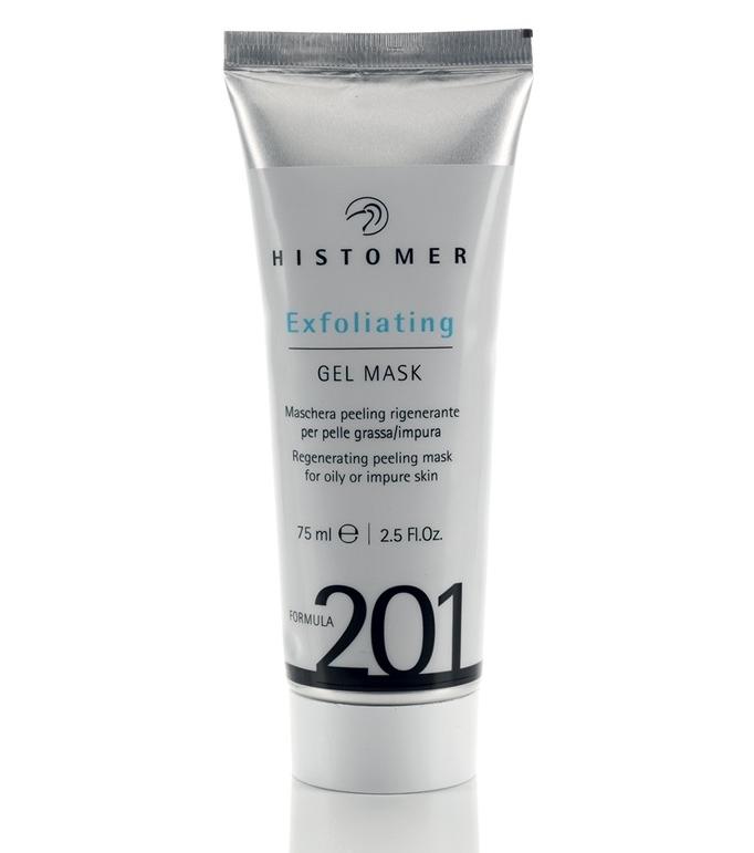 Histomer Гелевая маска-эксфолиант Формула 201 Exfoliating Gel Mask, 75 мл