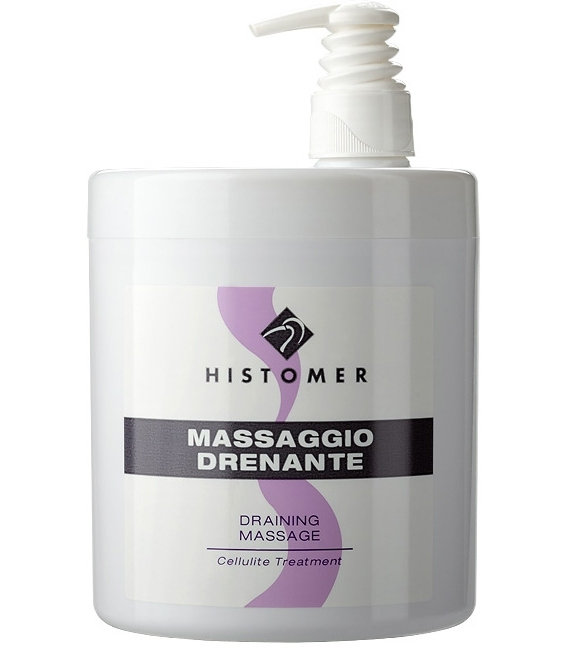 Histomer Дренажный массажный крем Massaggio Drenante, 1000 мл