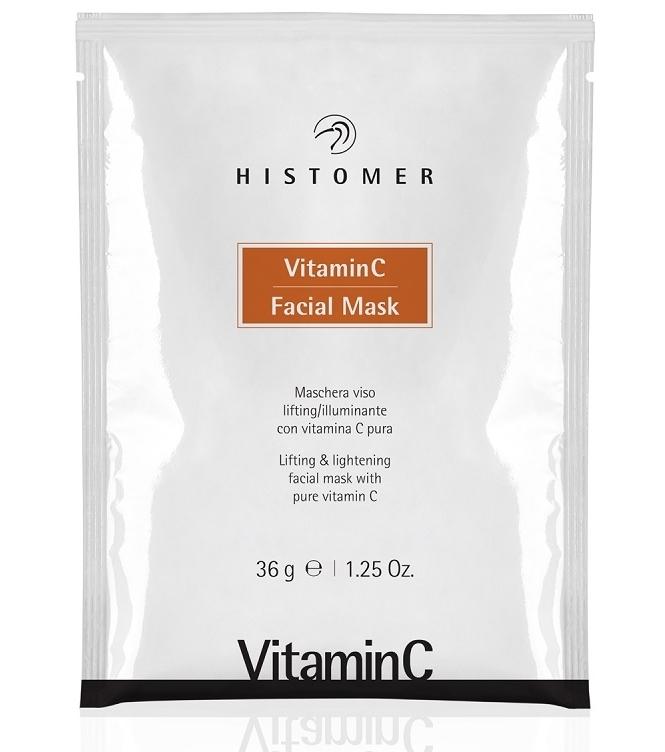 Histomer Альгинатная Маска Лифтинг и Сияние Vitamin C Facial Mask, 36г janssen розовая моделирующая маска с ацеролой и витамином c acerola vitamin c mask 500 гр