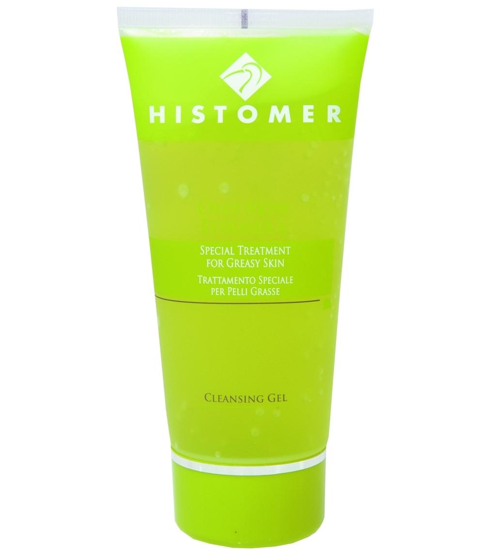 Histomer Очищающий гель для жирной и комбинированной кожи Rinse-Off Cleansing Gel, 200 мл gernetic marine gumming cleansing гель морской очищающий отшелушивающий 200 мл
