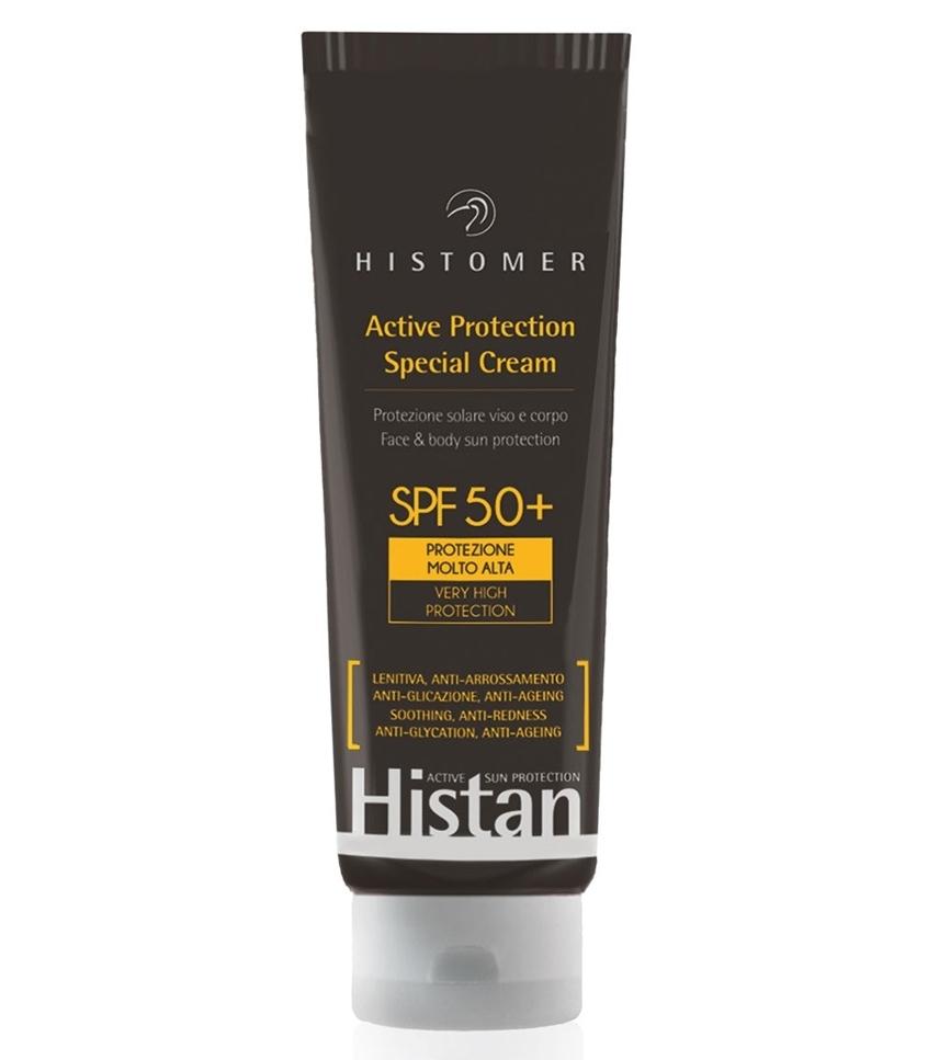 Histomer Солнцезащитный крем регенерирующий SPF80 Histan Body Cream, 100 мл