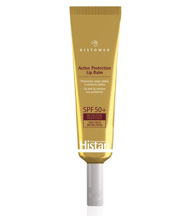 Histomer Солнцезащитный крем- бальзам для губ SPF 50+ Lip Balm, 15 мл солнцезащитный крем для лица spf 50 50 мл klapp immun sun