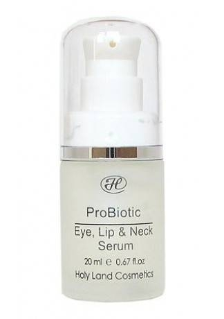 Holy Land Probiotic Eye, Lip & Neck Serum Сыворотка для Век, Губ и Шеи, 15 мл