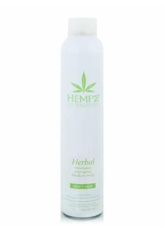 HEMPZ Лак Растительный для Волос Средней Фиксации Здоровые Волосы, 227г