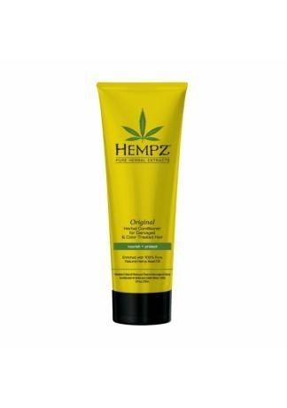 HEMPZ Шампунь растительный Оригинальный сильной степени увлажнения для поврежденных волос, 265 мл