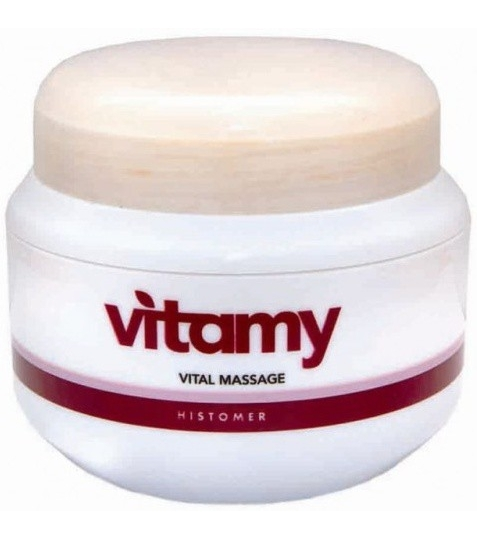 Histomer Массажный крем Витами - шелковая кожа Vitamy Vital Massage, 500 мл histomer крем филлер vital 125 мл