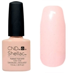 CND Покрытие Shellac Contradictions # 91971 Naked Naivete Гелевое, 7,3 мл