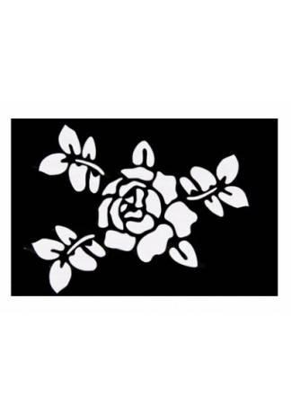 Beauty Image Трафареты Бумажные Малые Черно-Белые и Цветные (Размер 6см х 6см)