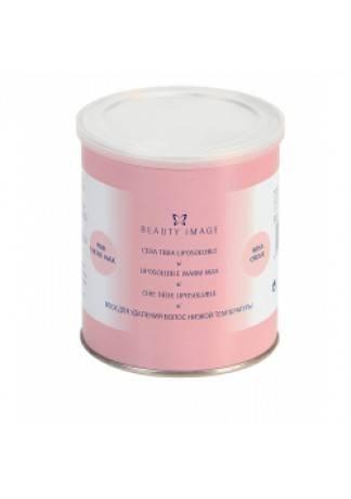 Beauty Image Теплый Воск Розовый с Розовым Маслом, 800мл beauty image теплый воск с маслом оливы 800мл