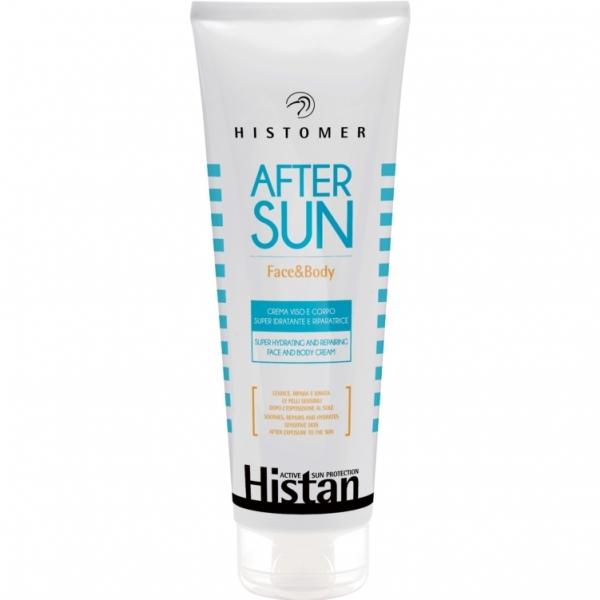 Histomer Крем Sensitive Skin After Sun Face&Body Восстанавливающий после Загара, 250 мл lancaster after sun tan maximizer увлажняющий крем после загара 125 мл